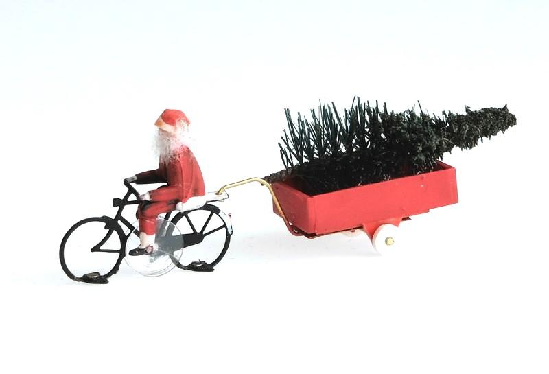 KKf-1 Weihnachtsmann Farhrrad fertig montiert