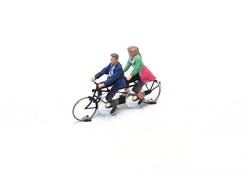 KKd-1 Tandem bicycle ready to run