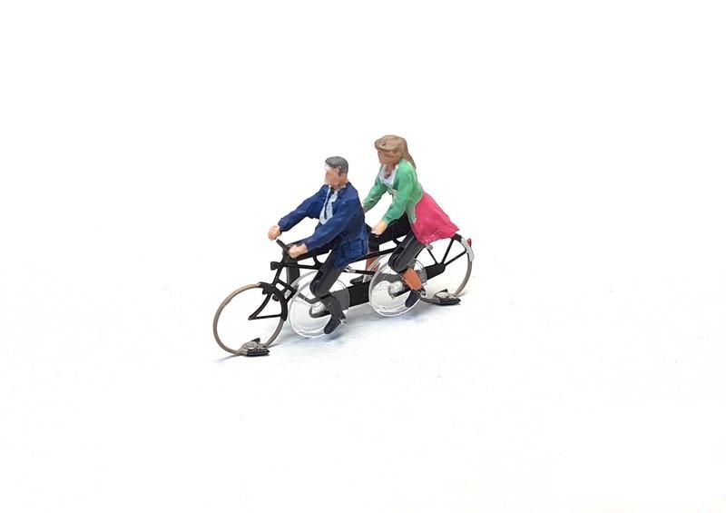 KKd-1 Tandem Farhrrad fertig montiert